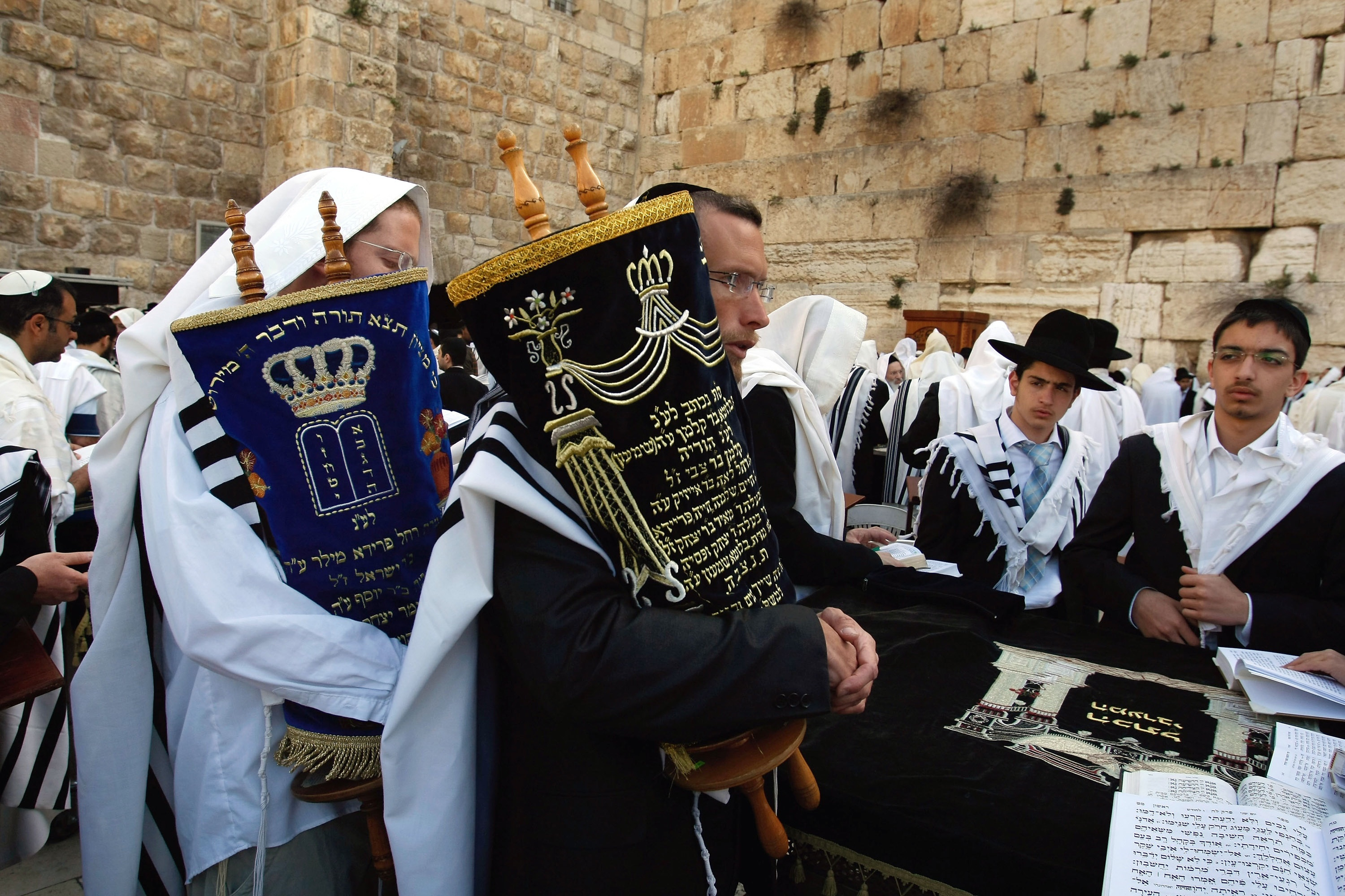Western Wall Fills With Jewish Pilgrims