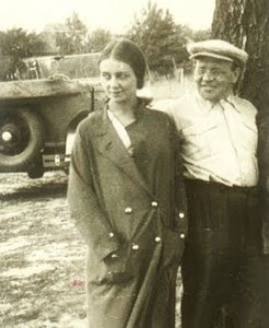 Antonina Pirozhkova And Isaac Babel