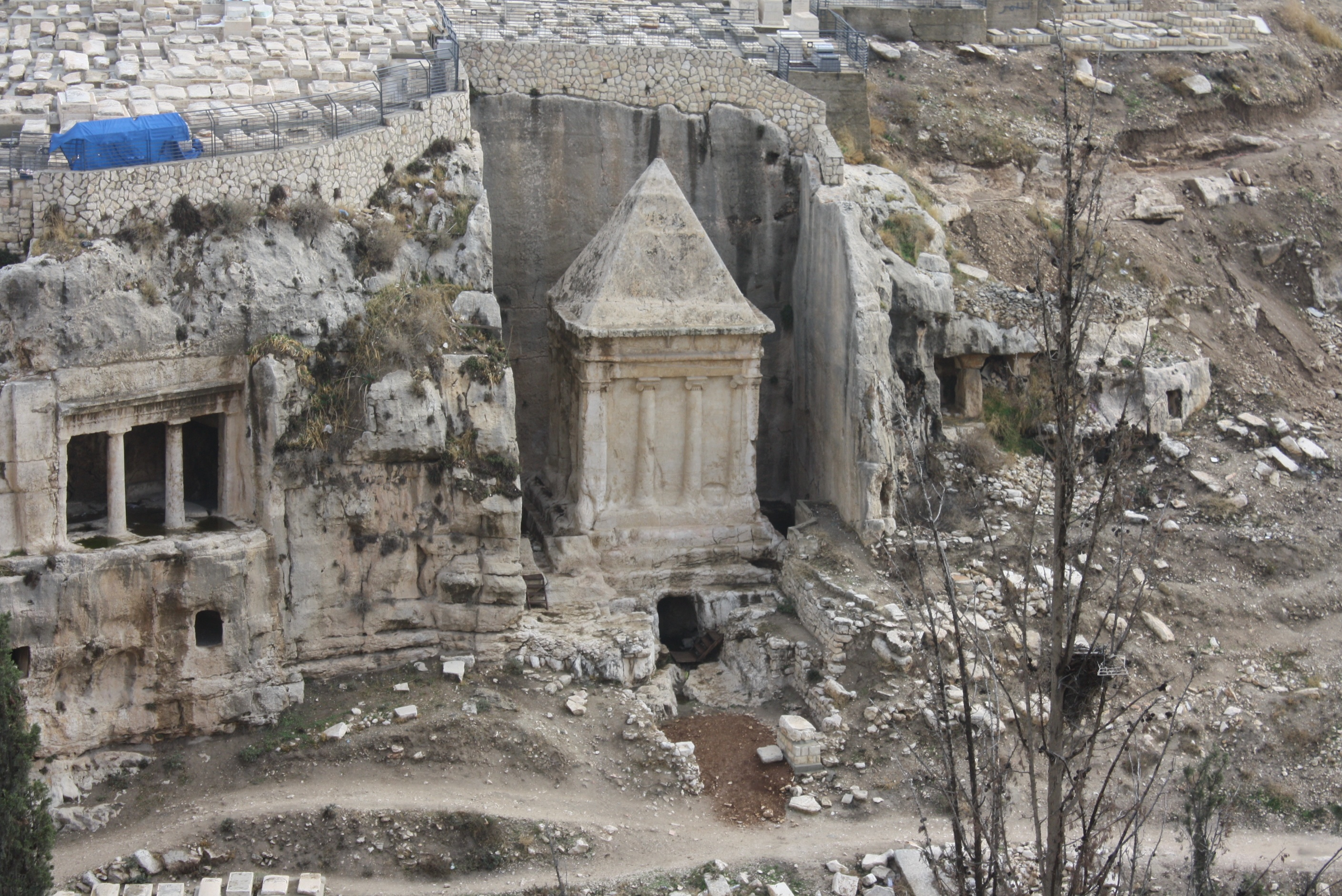 Zechariah's Tomb (Rt)