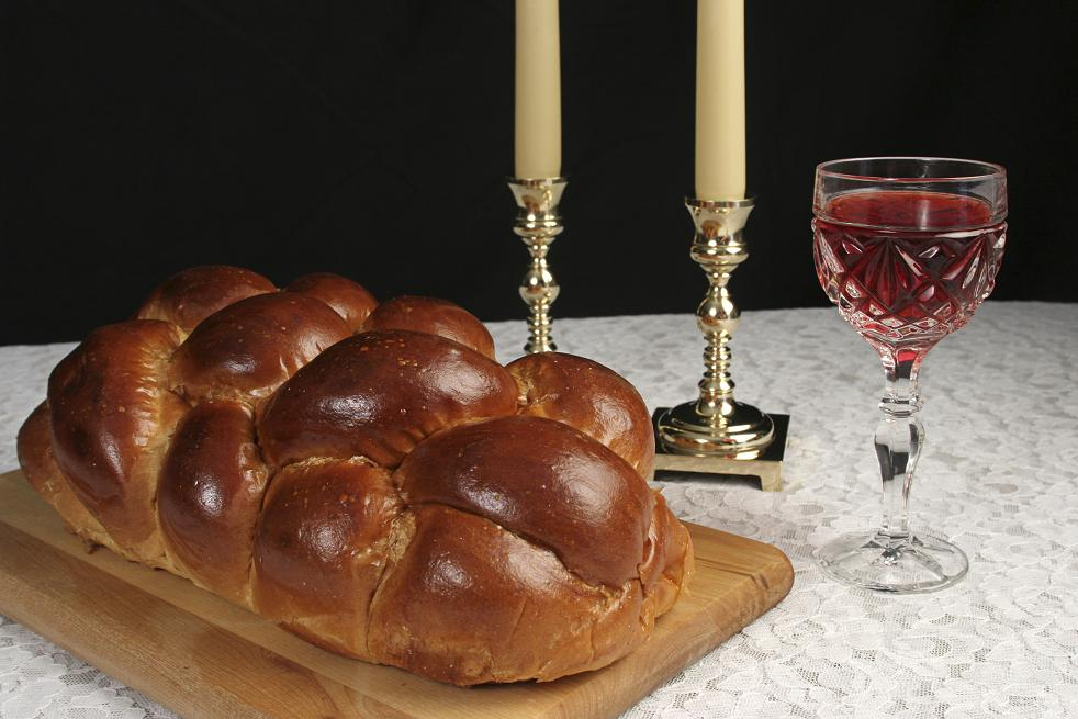 Complete Shabbat Table kiddush