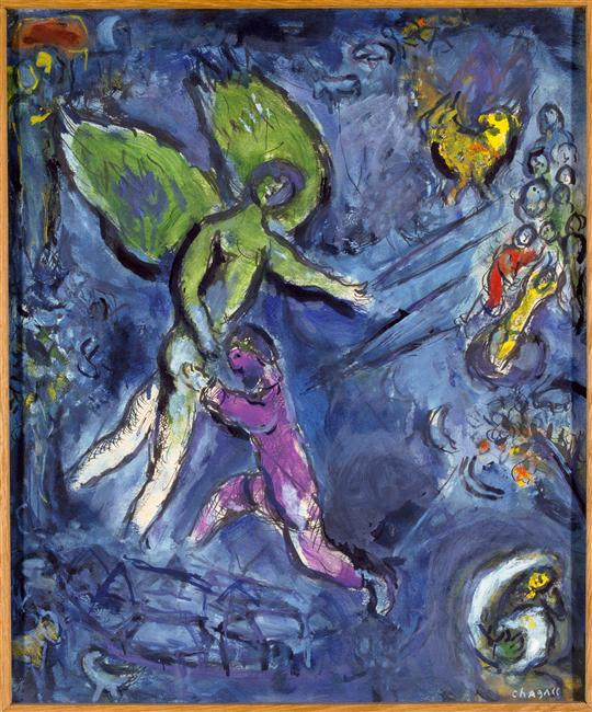 jacob-wrestling-with-the-angel chagall